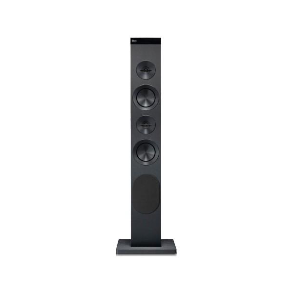 Lg rk1 torre sonido negro 100w de potencia,usb, bluetooth, bass refflex