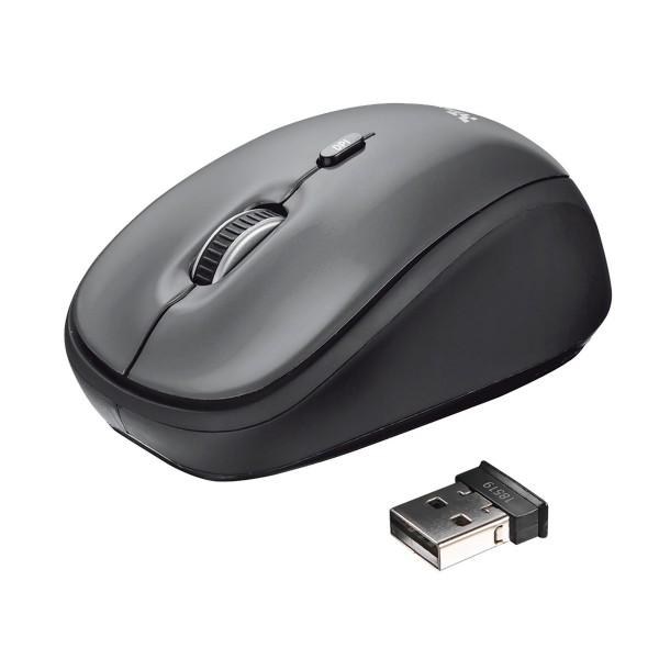 Trust wireless negro ratón inalámbrico