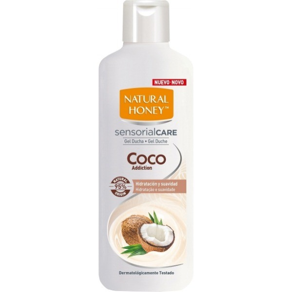 Natural Honey gel de ducha Coco Addiction 650 ml