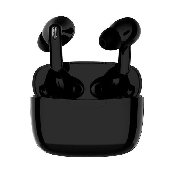 Akashi auriculares negros 12h